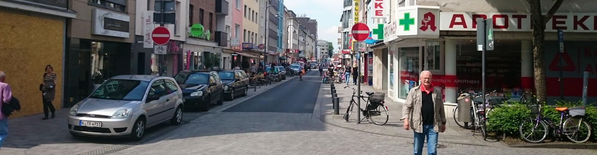 Severinstrasse Mitte Nord