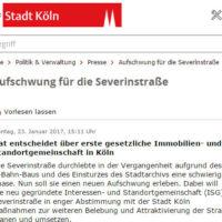 Stadt Köln Presse Mitteilung